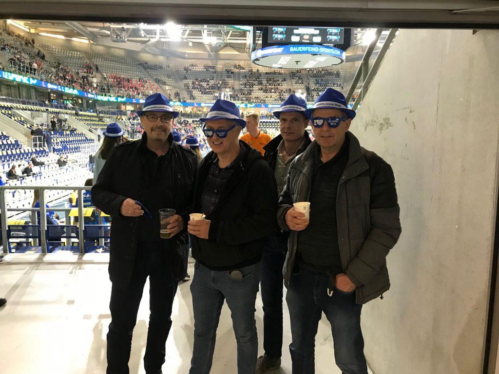 TVM Volleyballer beim Pokalfinale - SAP Arena