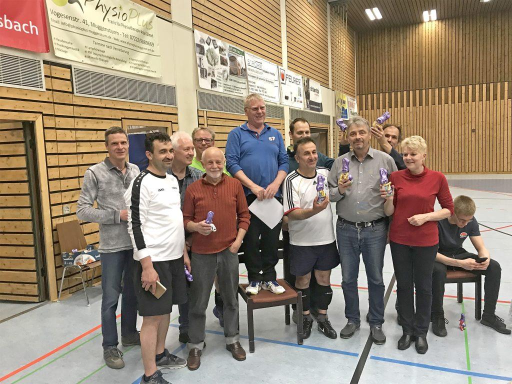Siegerehrung Volleyball-Ostertunier