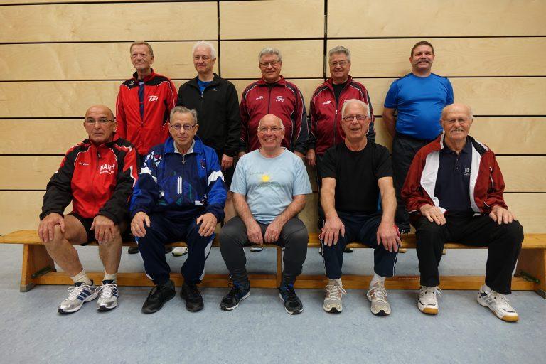 Männergymnastik - Gruppe 2019